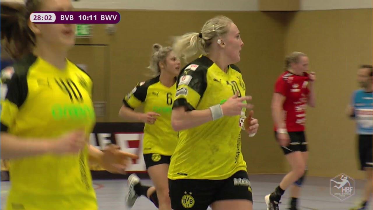 bvb handball noch 4 minuten in der ersten halbzeit