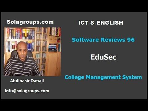 EduSec College Management Software 2017