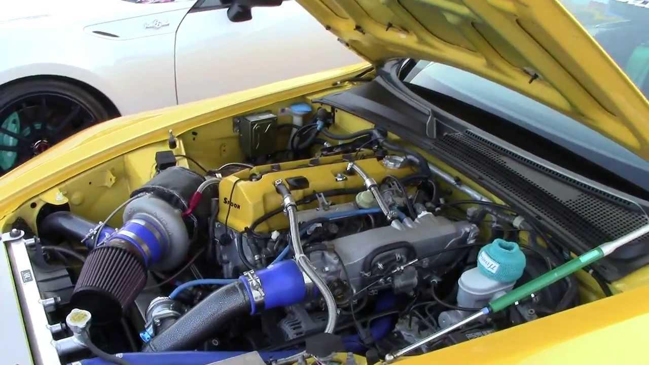 Spoon Engine Turbo Honda S