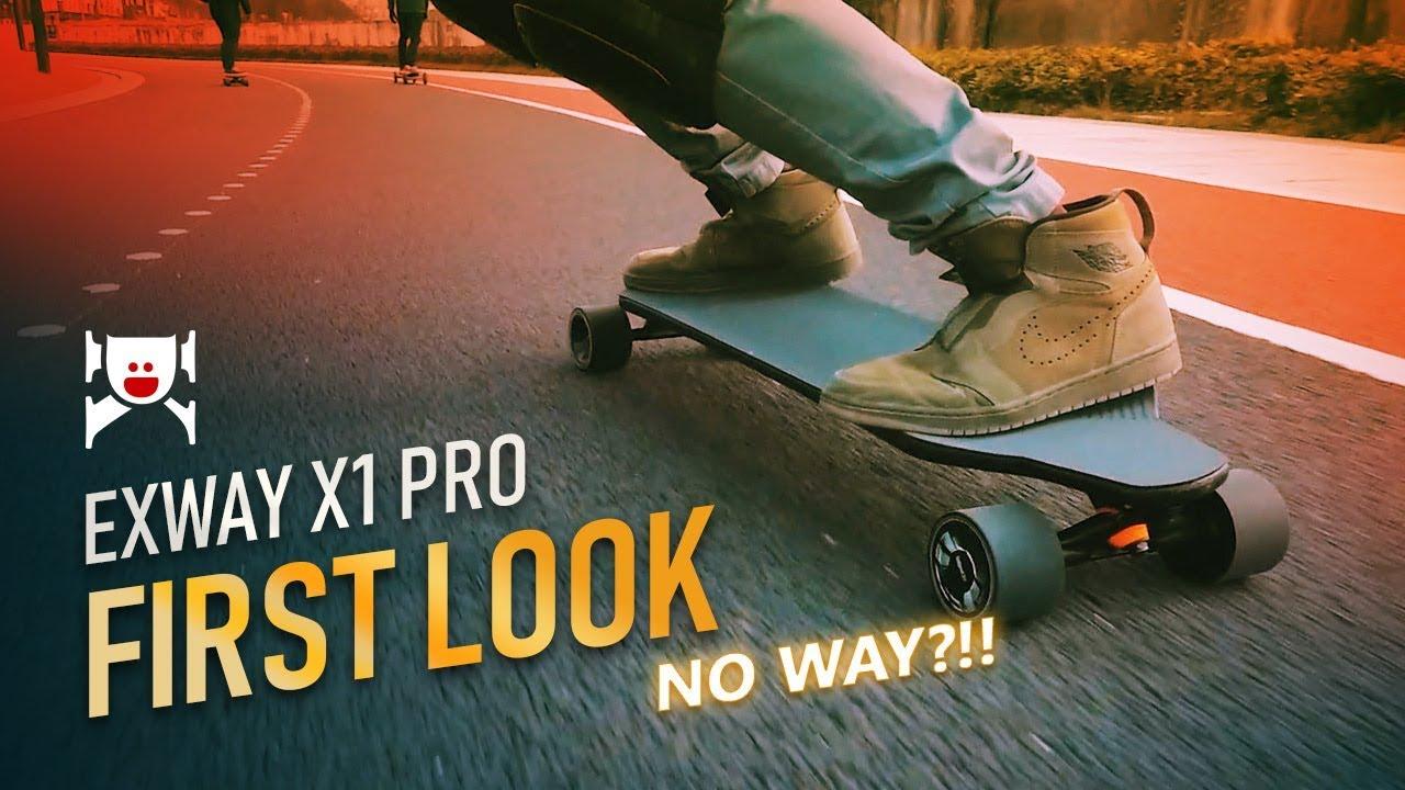 Exway Fully Customizable Electric Skateboards | Indiegogo