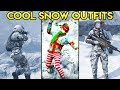 GTA Online - 15+ SNOW / WINTER THEMED OUTFITS (Fashion Friday)