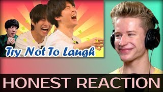 Bts funny reaction