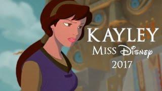 Miss Disney 2017 Audition   Kayley