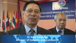 Lao News on LNTV-CLMV countries have great potential for agricultural production. 02/04/2013