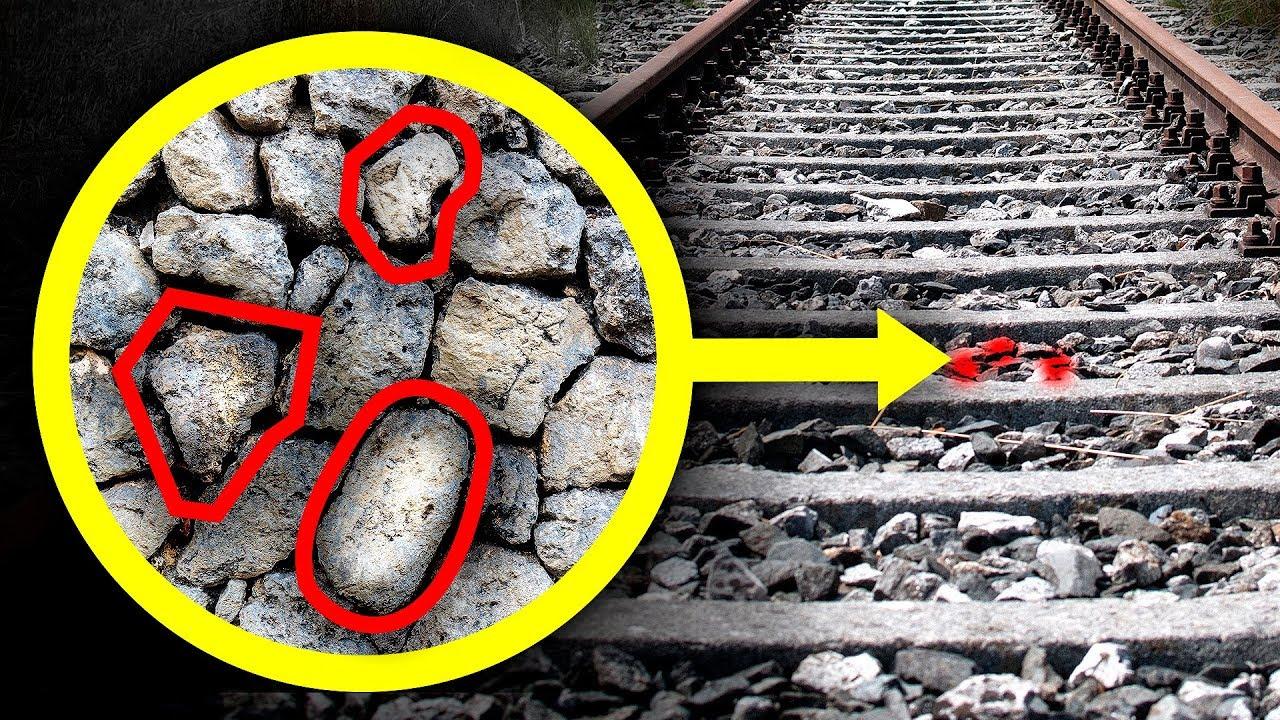 Зачем нужны камни у железнодорожного полотна?