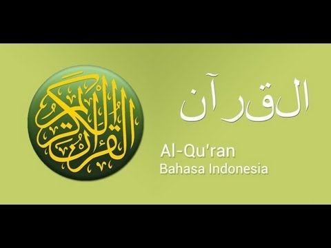 018 Al Kahfi - Holy Qur'an with Indonesian Translation