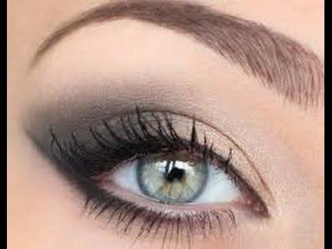 Дневной макияж для зеленых глаз пошагово