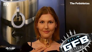 An interview with Swedish Collar - at German Fetish Fair 2019