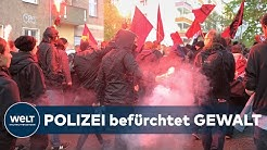 "CORONA ZUM TROTZ: Linke planen offenbar  ""Revolutionäre 1.-Mai-Demo"" in Berlin"