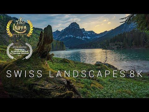 Swiss Landscapes 8K – A  Timelapse Adventure in Switzerland