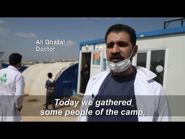تغطية من وكالة AFP لحملات التعقيم والتوعية التي تجريها جمعية عطاء للوقاية من وباء كورونا