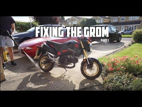 How to Fix Honda Grom Part 1 (Assessment) - Видео на мобильник!