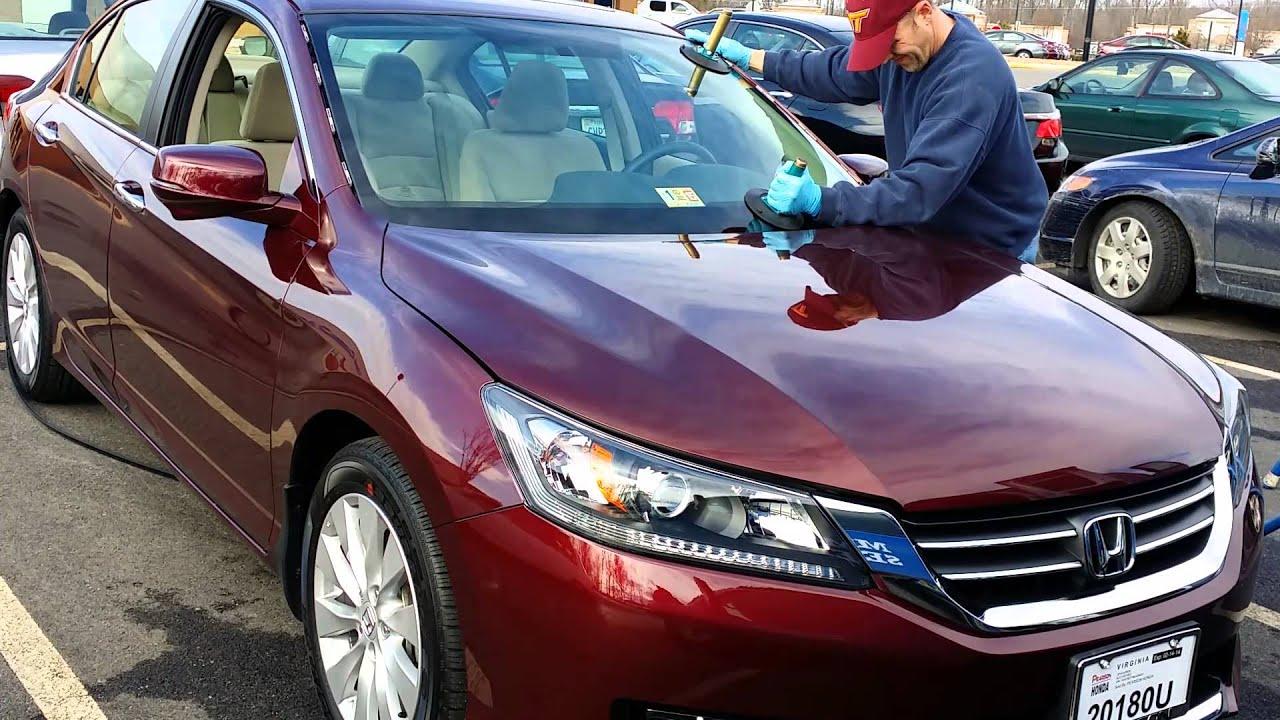 2014 Honda Accord Windshield Replacement Youtube