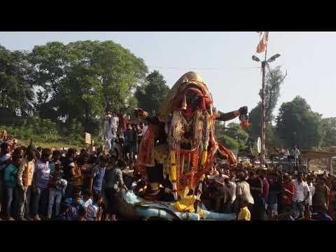 Jabalpur ki maharani ka visarjan maata maha kaali