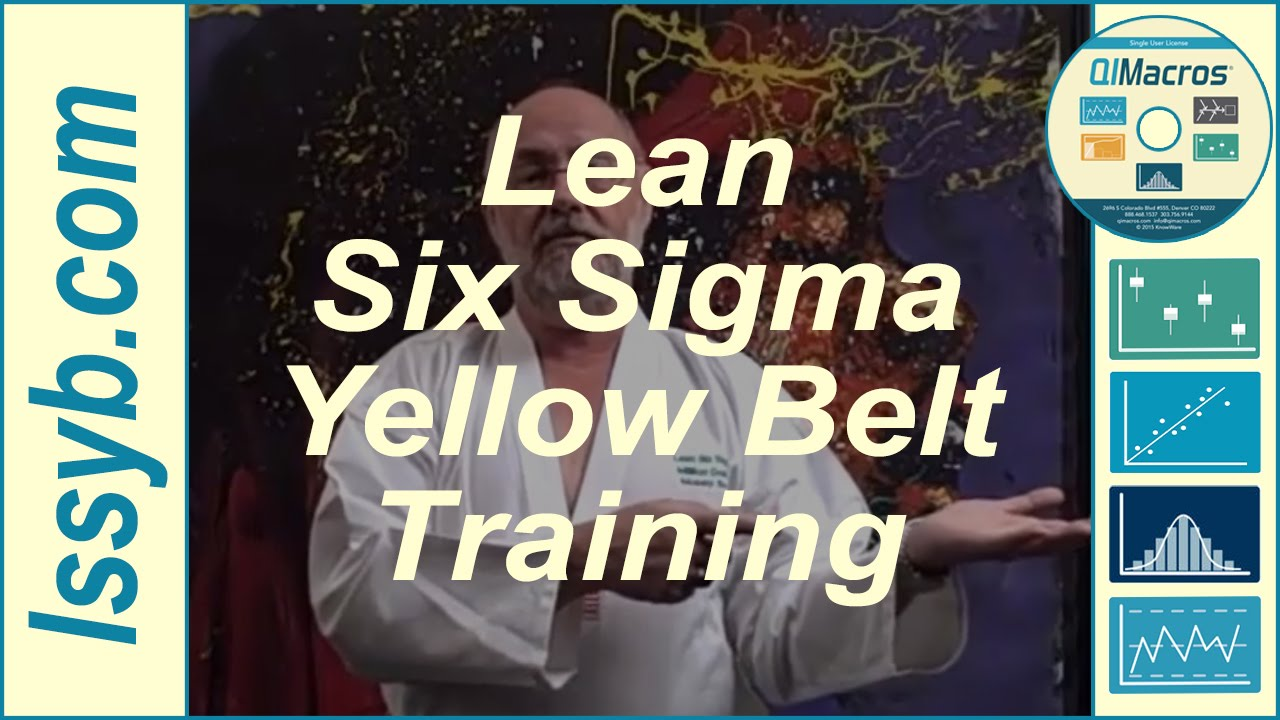 Lean six sigma yellow belt training overview free youtube xflitez Images