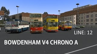 Omsi 2 Bowdenham V4 Chrono A 12 Apsley Bus Station-Oakwood Green