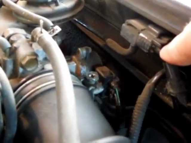 1999 Toyota Camry Le Throttle Position Sensor Tps And Map Sensor Locations Youtube