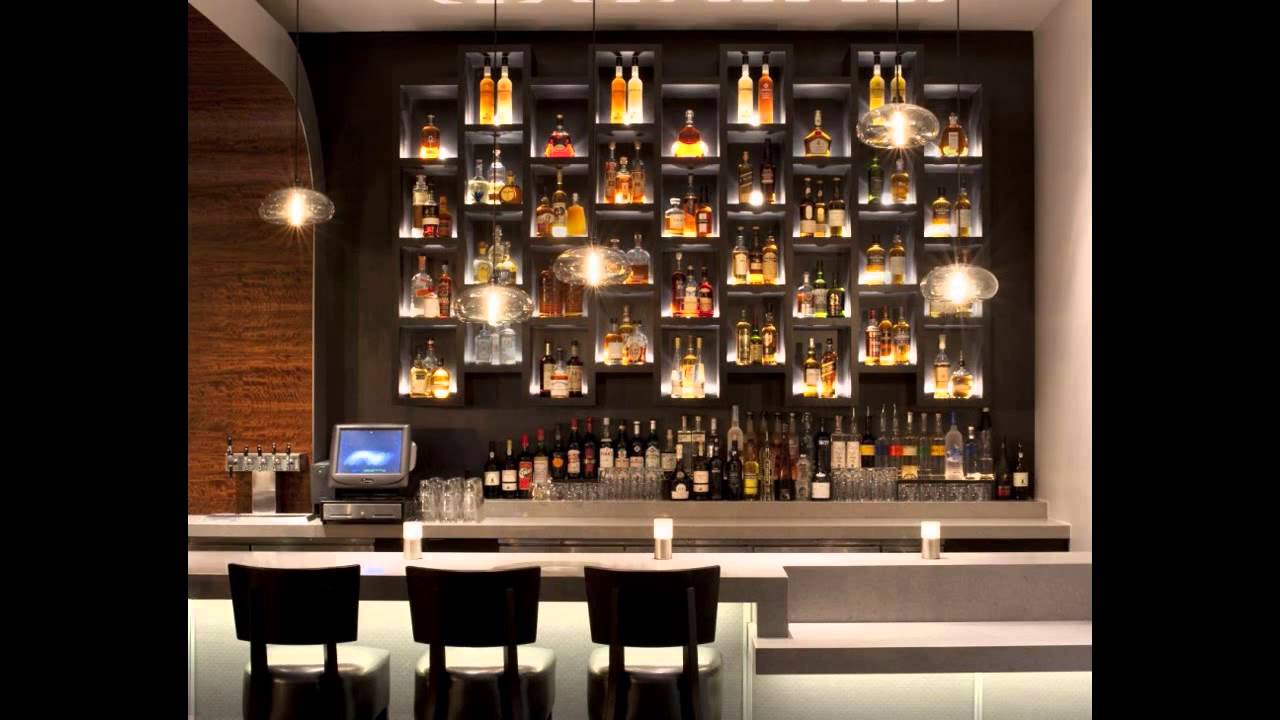 Amazing home bar design ideas youtube - Black and silver lounge design ...