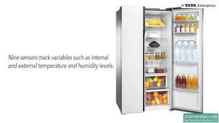 Samsung 591 Litres RS554NRUA Side by Side Refrigerator