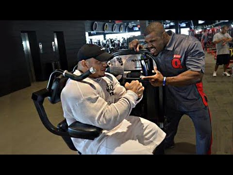Interview With Big Ramy in Oxygen Gym, Kuwait