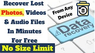 RECOVER LOST PHOTOS | Best free photo recovery software