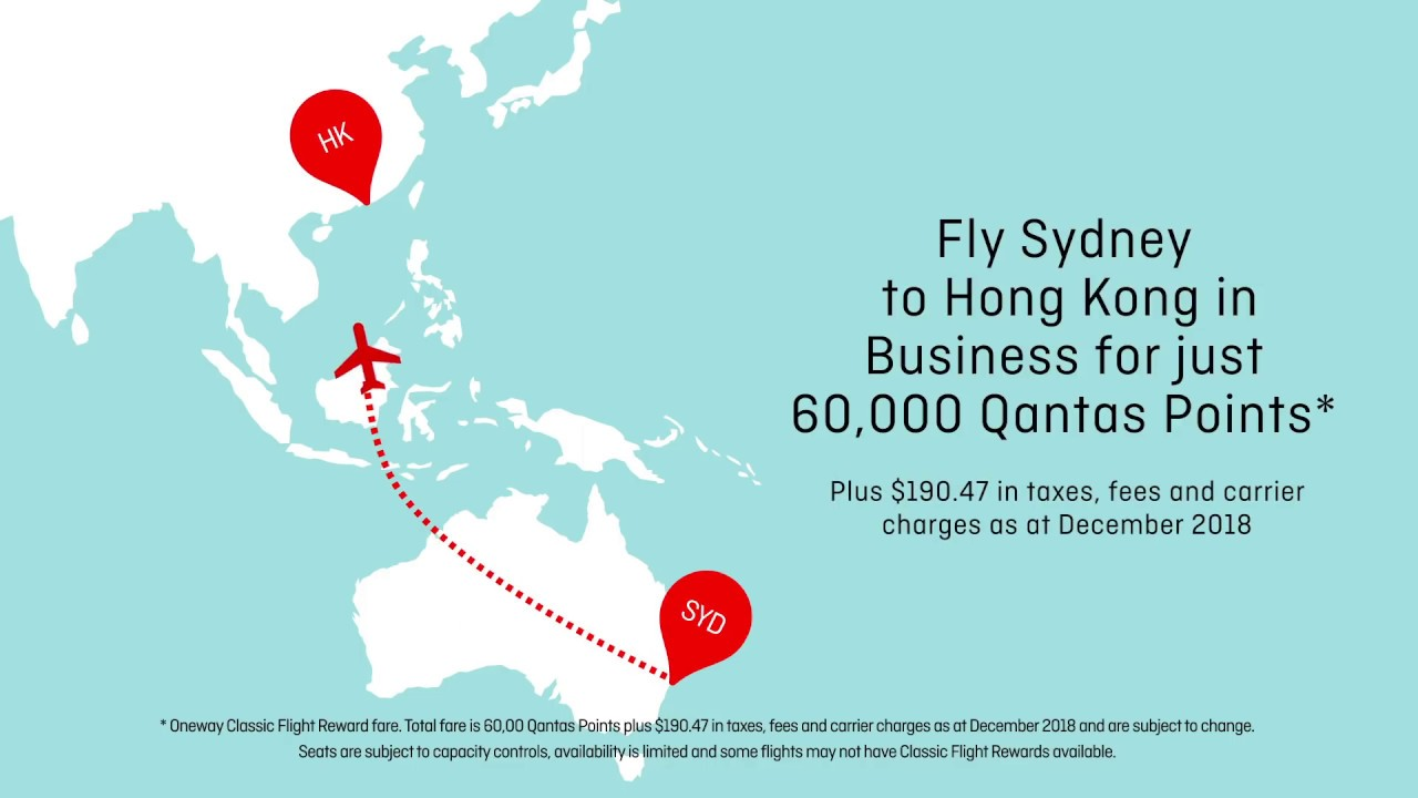 Classic Flight Rewards | Qantas Frequent Flyer