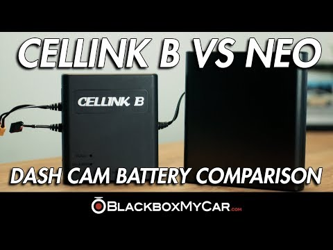 Dashcam Battery Pack Comparison: Cellink Battery B Vs Cellink Neo - BlackboxMyCar