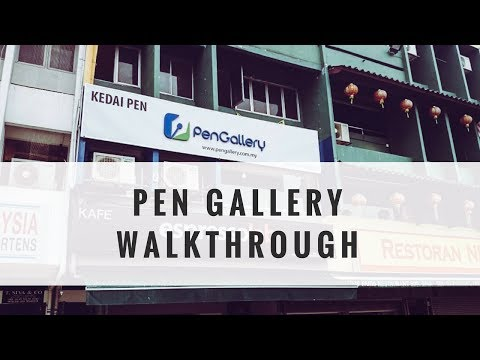 Shop With Me PEN GALLERY - Fountain Pen and Ink