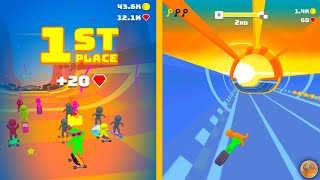 Turbo Stars - Race in awesome tracks Gameplay (Android)