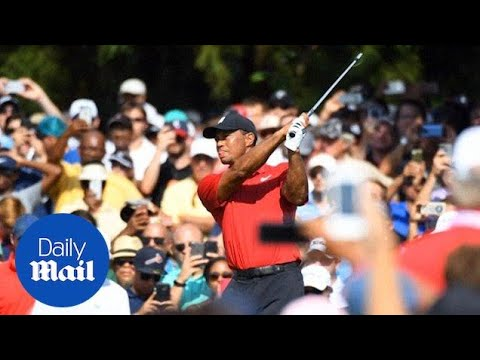Tiger Woods wins his first tournament in five years after injuries
