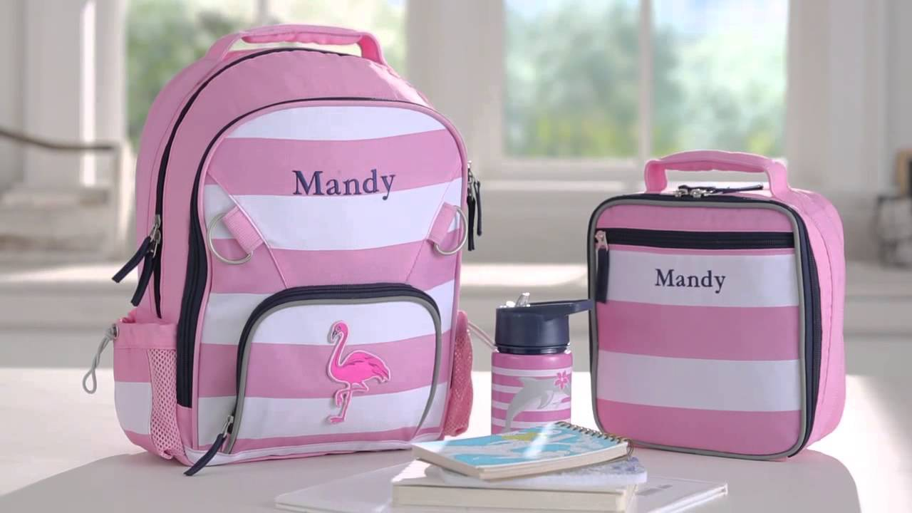 Send Your Kids To School In Style With Pottery Barn Kids