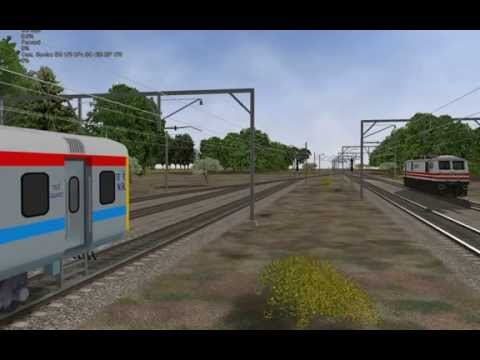 My first AI Shunting activity made in Open rails with Indian Railways