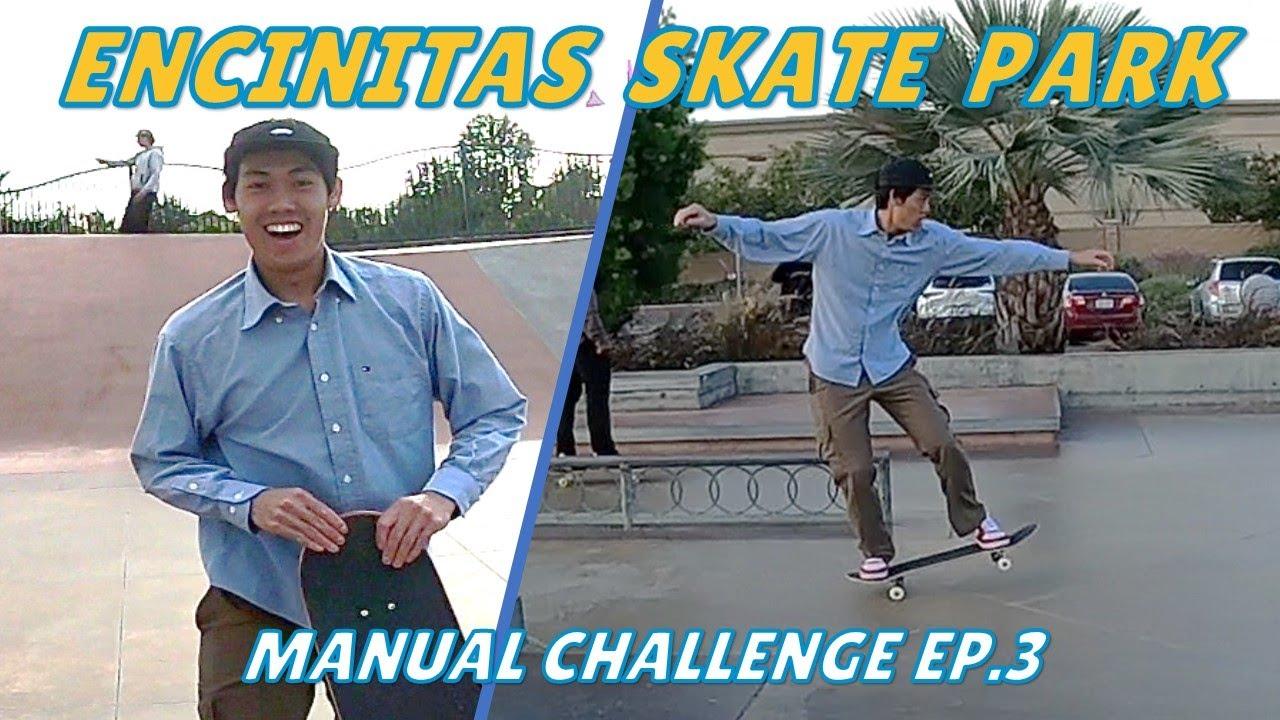 Longest Manual at Encinitas Skate Park – Skate Challenges Ep.3