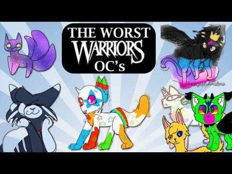 The Worst OC's EVER! | Warrior Cats Challenge #1