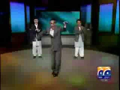 Obama, Karzai & Zardari Funny Dancing (GEO Pakistan)