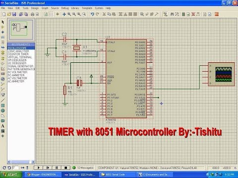 Tutorial for Timer Interrupt  LED  Blinking in Keil Compiler