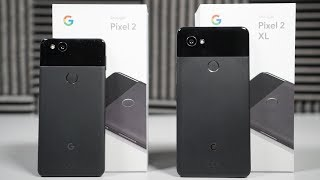The Pixel 2 and Pixel 2 XL are ready to start arriving on doorsteps...