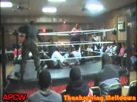 APCW Tag Team Championship Bronx Lebanon VS Chris ...