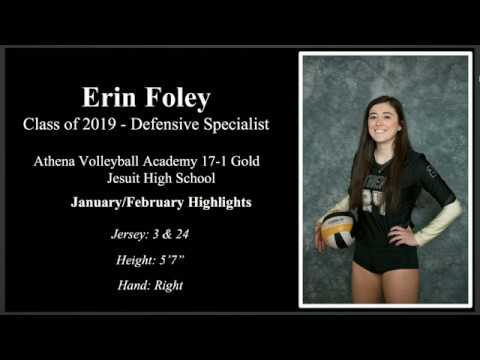 Erin Foley 2019 Libero Highlights 21818
