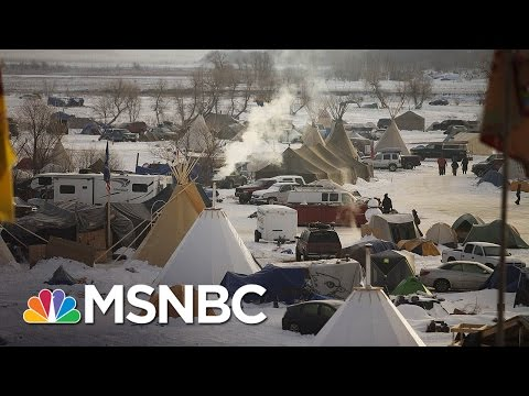 Fires Breaks Out At Dakota Access Pipeline Site | MSNBC