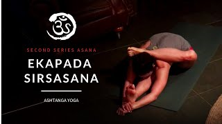 Ashtanga Yoga With Krista Shirley Ekapada Sirsasana