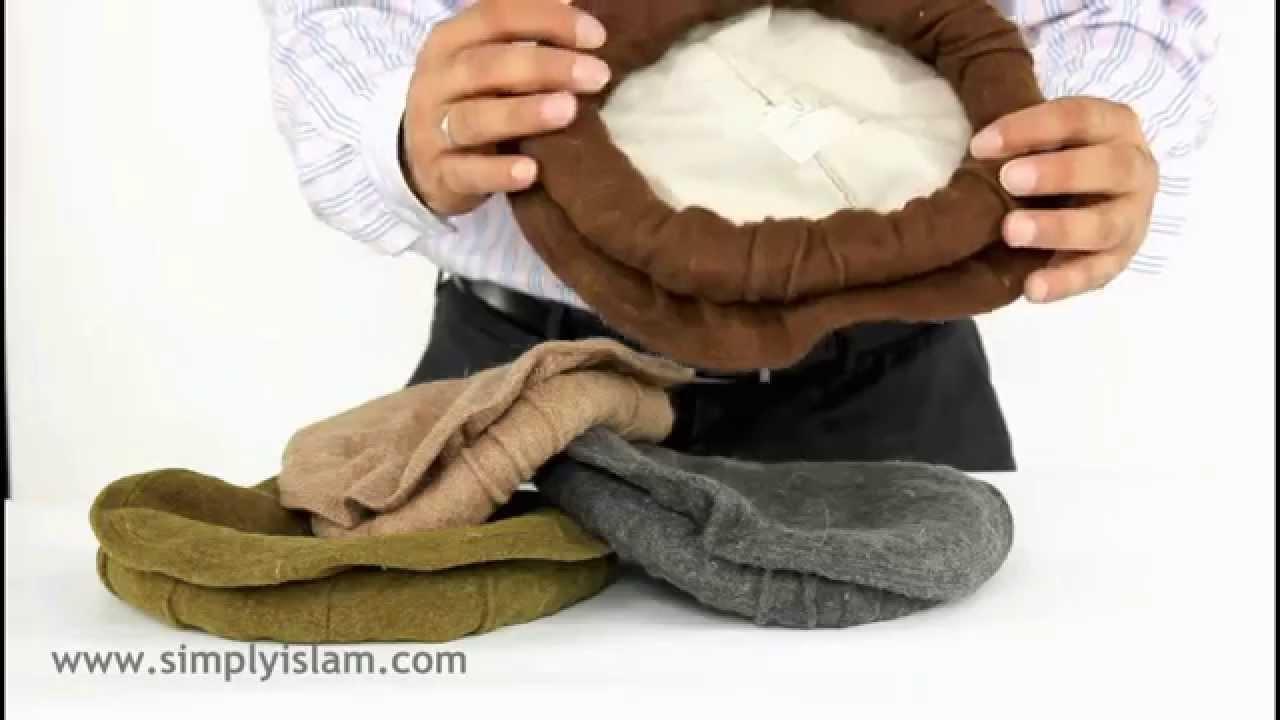 Afghan Hat Pakol - Fashion Winter Wool Hat - YouTube 1360f99095f