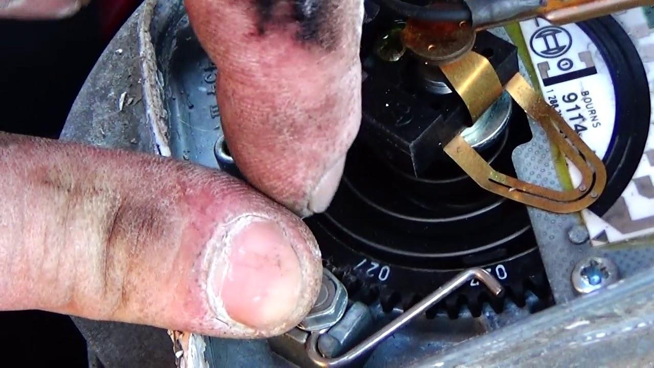 Авто -инжектор -как   настроить холостые обороты двигателя