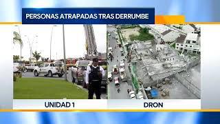 Derrumbe de Plaza en Construcción deja 3 muertos en Cumbres del Sol Monterrey