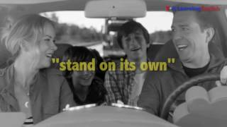 English @ the Movies: 'Stand On its Own'