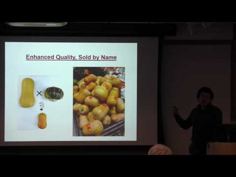 Michael Mazourek: Thinking outside the crop: challenging market class concepts in vegetables