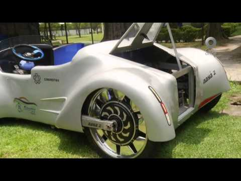 Nota - Auto de hidrógeno 'Nayá', Cinvestav IPN