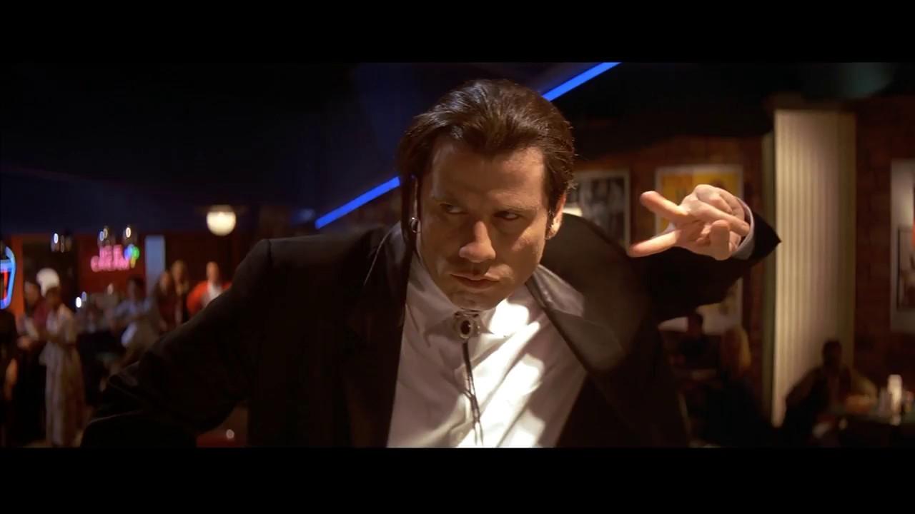 Vincent Vega Pulp Fiction John Travolta Mejores Frases