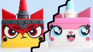 Two Sided UNIKITTY CAKE from Lego Movie 2!