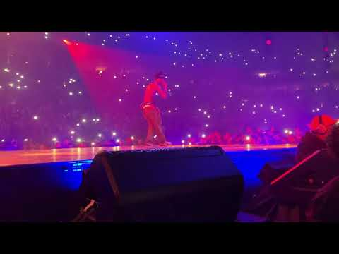 Skeletons Travis Scott Live FRONT ROW (TRAVIS SAID THIS IS HIS FAVORITE SONG ON ALBUM)